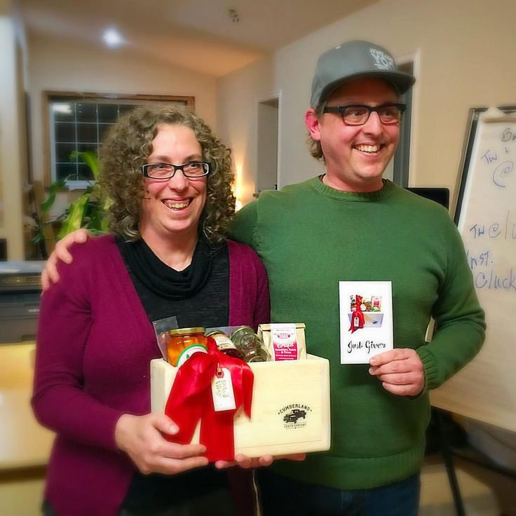 """Step Carruthers and Robin Konstabaris pitched Just Give'r Crates at the November #WeAreYQQ business development workshop. The response: overwhelming enthusiasm from the 20+ entrepreneurs in the room. Why? Because this Cumberland idea is going to have an impact on artisan food producers throughout the Comox Valley. How is it innovative? Self-confessed """"foodies,"""" Robin and Step …"""