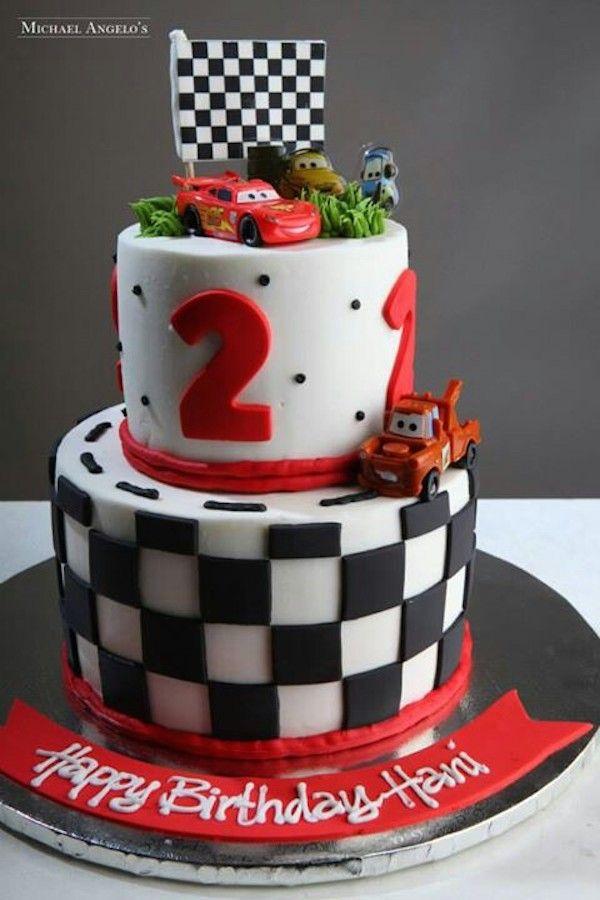 Tarta de cumpleaños de Cars                                                                                                                                                                                 Más