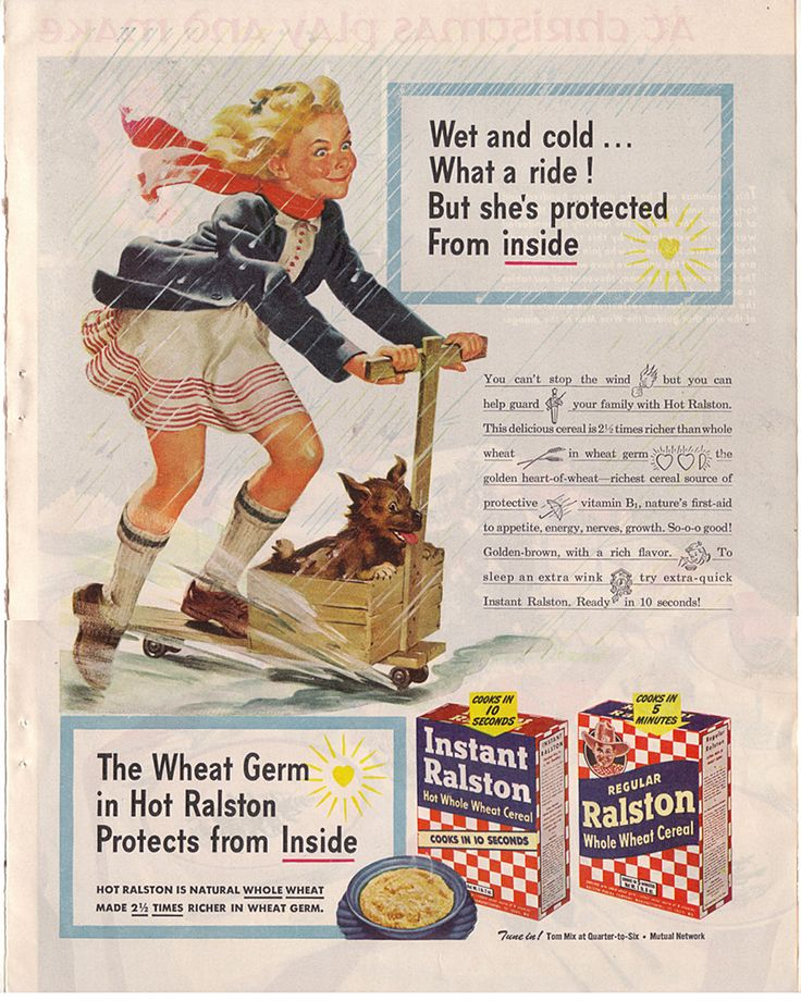 Ralston Whole Wheat Cereal