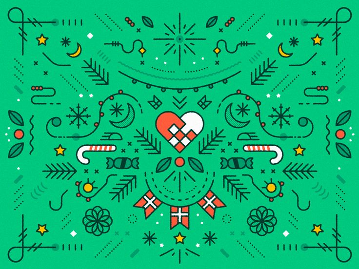 Merry Christmas by Camilla Drejer Andersen - Dribbble