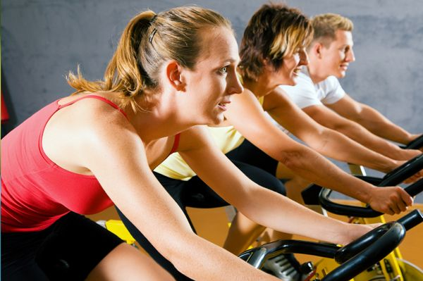 Looking for an intense workout? Give spinning a go! Here are a few benefits of jumping on that bike!
