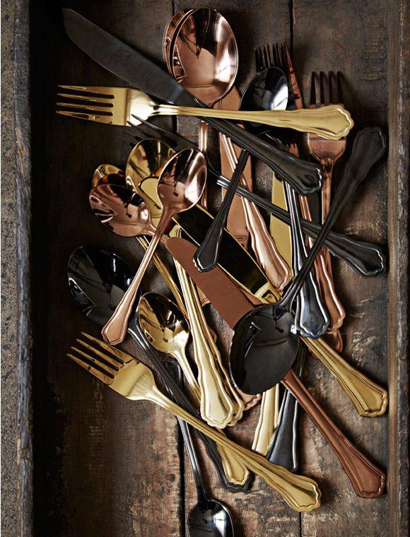 44 best Besteck images on Pinterest Wooden spoon, Chopard and Colors - tisch decken mit modernem besteck