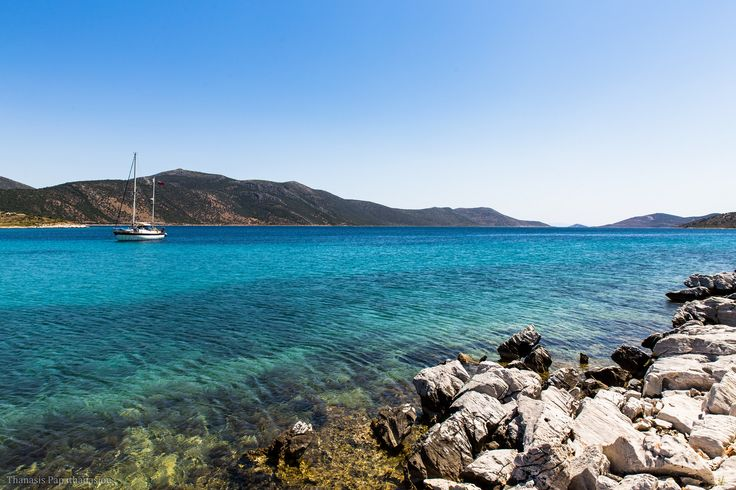 Blue Lake Beach, Evia https://www.flickr.com/photos/frigus/19193004038/