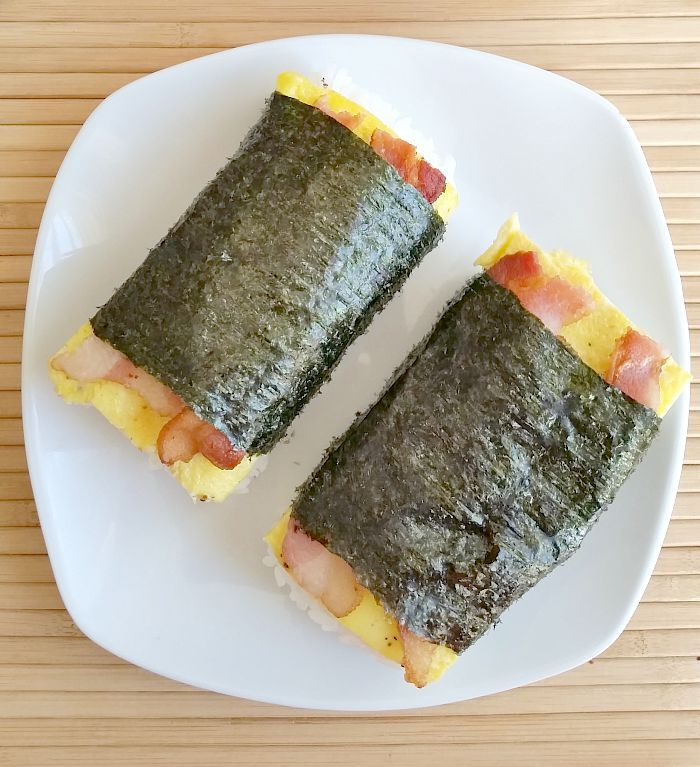 Bacon and Egg Musubi