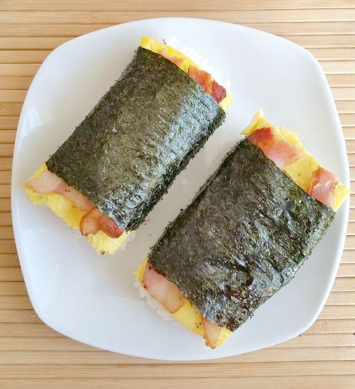 Bacon and Egg Musubi
