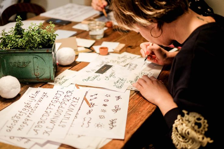 elenabraghieri photo calligraphy workshop typography