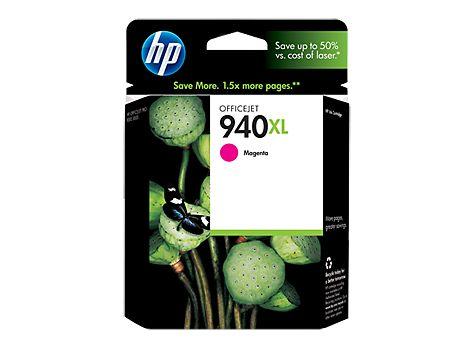 Tinta Printer HP 940XL Magenta Ink Cartridge Original dengan harga termurah @ Rp 263.000,- dan bergaransi Resmi serta bisa dibeli secara eceran dan grosir