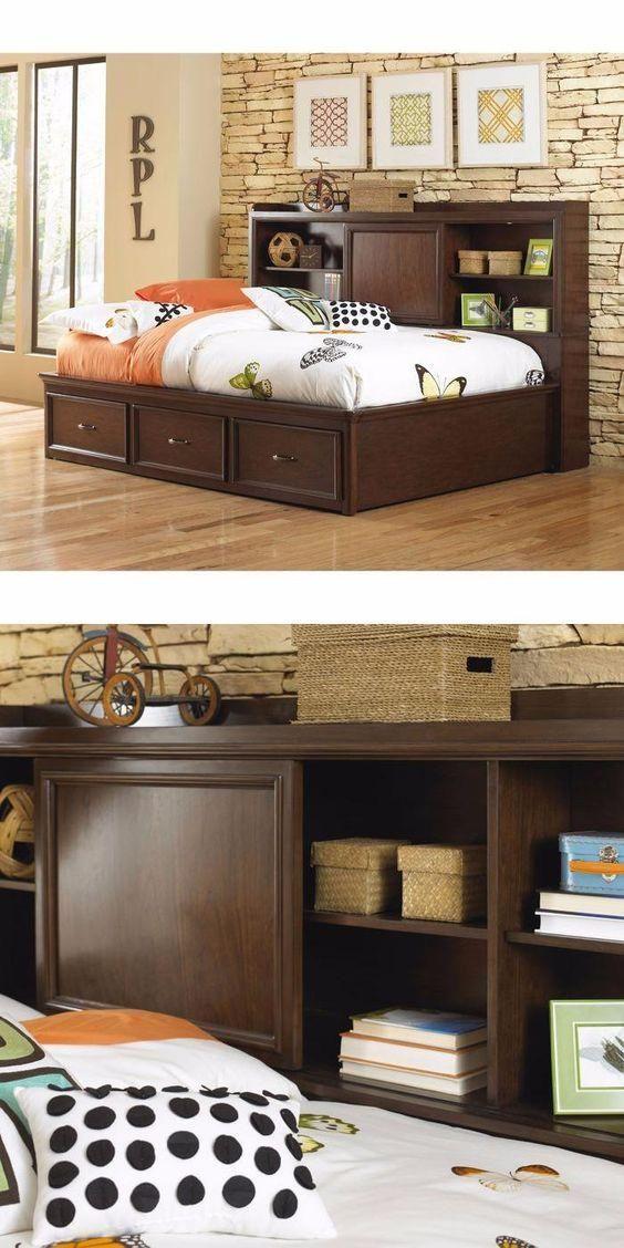 ericson lounger full bed by pulaski