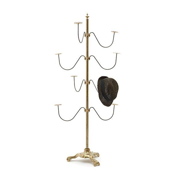 Italian style leg hat stand  ハンガー ハット  スタンド イタリア ミラノ デザイン シンプル アンティーク ヴィンテージ ハンドメイド