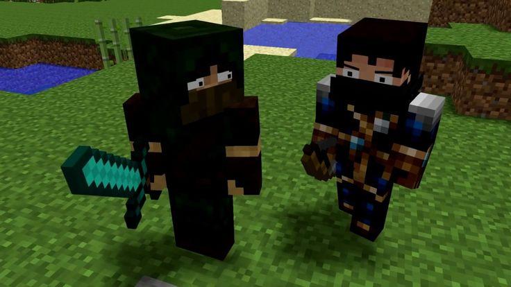 Майнкрафт видео мультик Zombie & Chicken Life   The Minecraft Movie