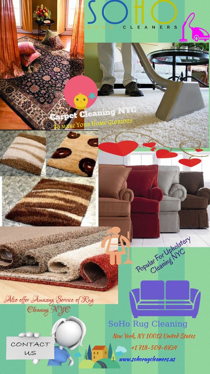 SoHo Rug Cleaning offer professional carpet cleaning, stain removing, organic cleaning solutions and deodorising of carpets and rugs. Visit Today!