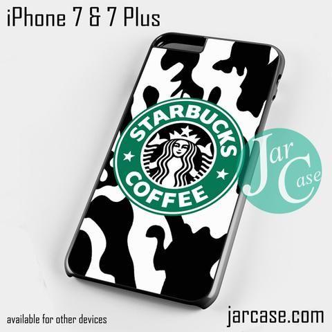 Starbucks Black Camo Phone case for iPhone 7 and 7 Plus