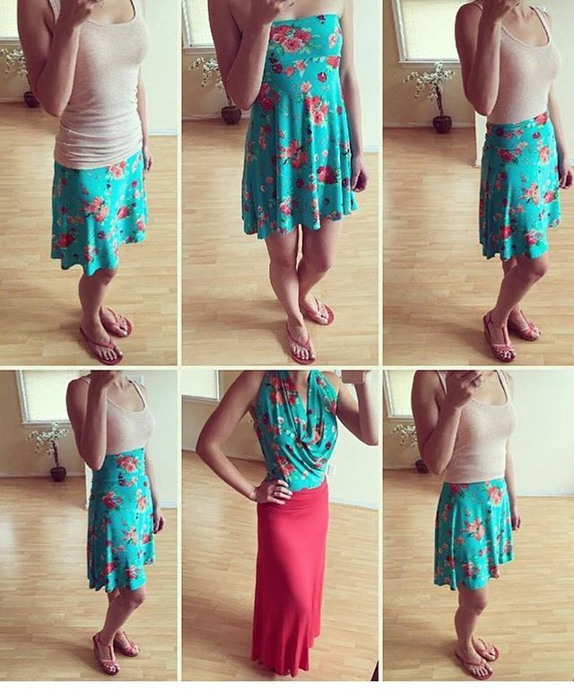 Love this Azure skirt worn SOO MANY different ways! Adorable and versatile…