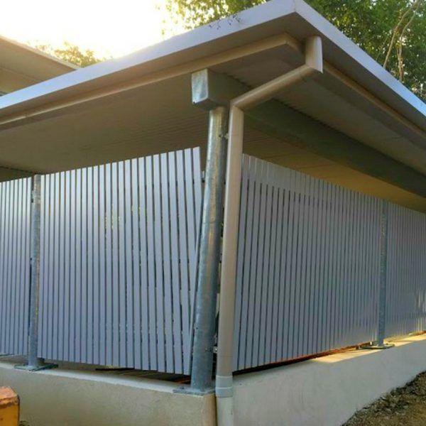 Boswen Gates Melbourne Australia Vertical Slat Fence Fa Pool Houses Fence Slats