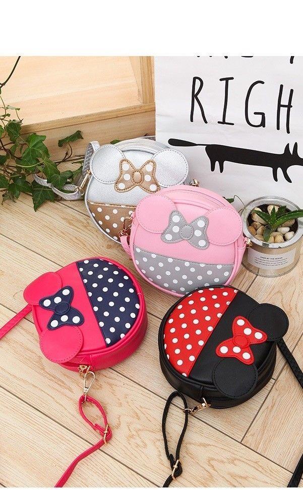 mini lady cute shoulder bag girl butterfly bag a main female Mickey handbag New #Unbranded #ShoulderBag