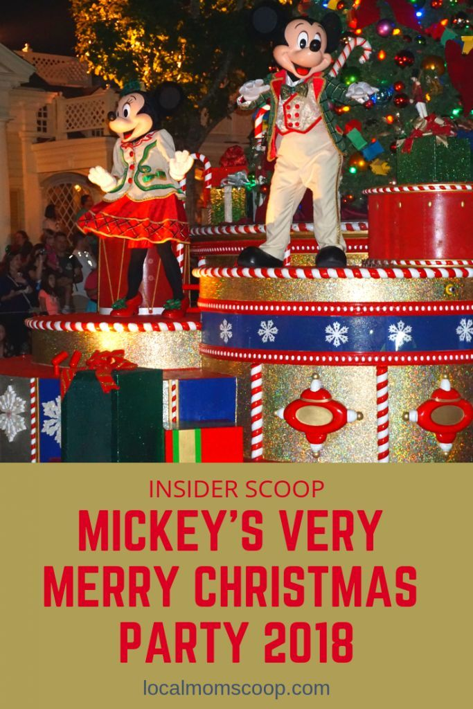 Insider Scoop For Mickey\u0027s Very Merry Christmas Party 2018