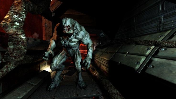 Very First doom 3 BFG Edition screenshots