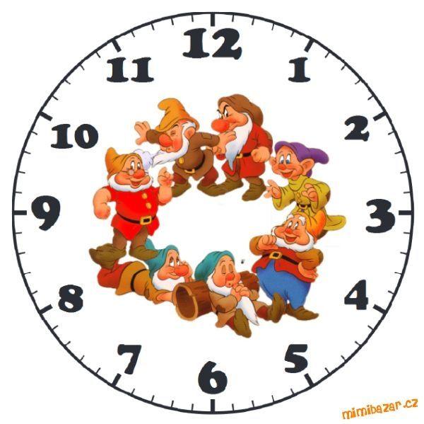 Шаблоны циферблатов для детских часов (2) (600x599, 134Kb)
