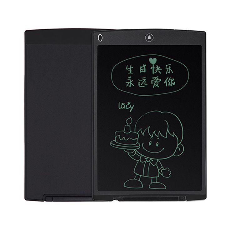 """12 """"LCD Digital panel de Escritura Tablet eWriter Tarjeta Gráfica de Dibujo Electrónico Tablero de Notas Bloc de Notas con Lápiz El Envío Libre"""