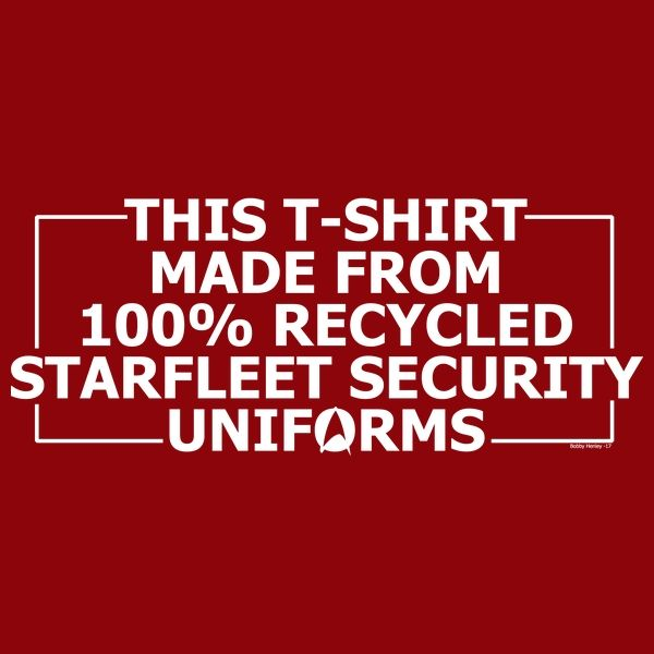 100% recycled security uniforms