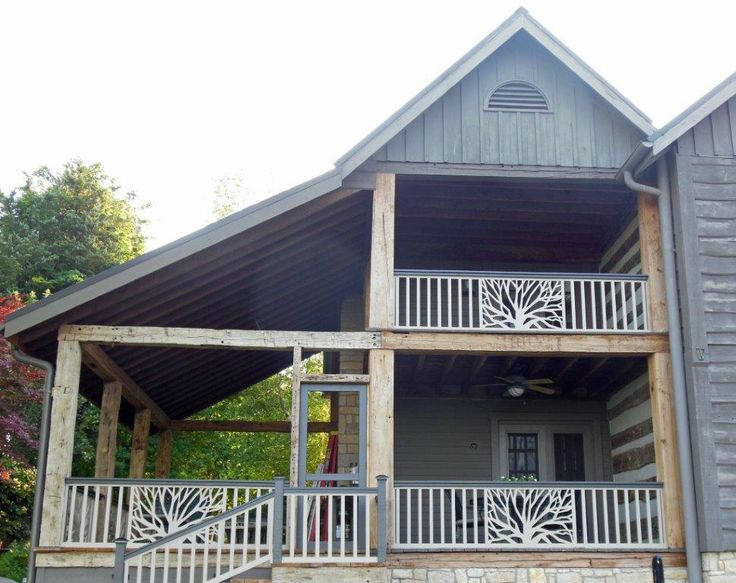 The Branches Panel | Deck railing design, Patio deck ...