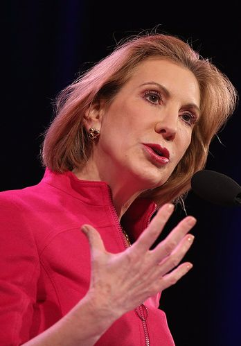 """Carly Fiorina is running for President! """"I think I'm the best person for the job because I understand how the economy actually works. I understand the world; who's in it."""" What do you think?"""