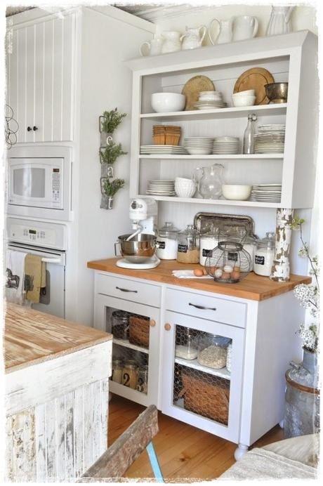 decoracion cocinas rusticas vintage provenzal