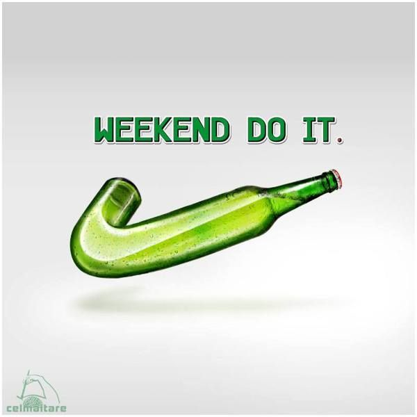Weekend do it! by Celmaitare , via Behance