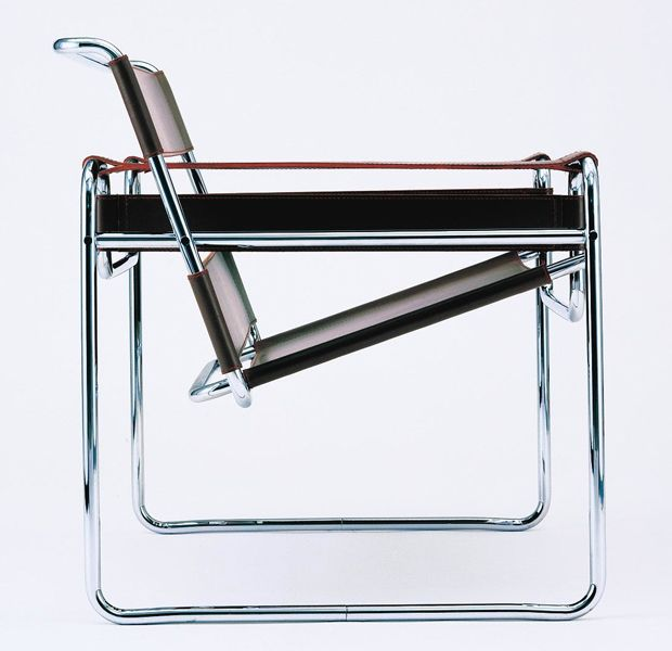 Marcel Breuer's Wassily Chair, 1925.