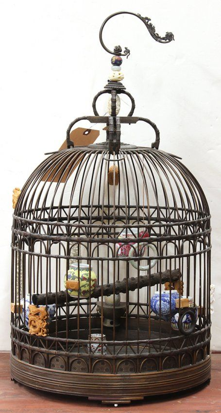 chinese bird cages | Chinese Bird Cage : Lot 4104