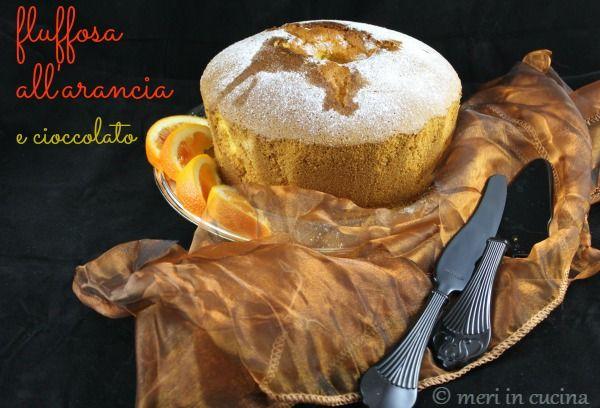 fluffosa arancia e cioccolato
