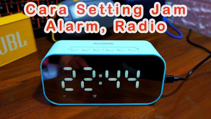Cara Setting Alrm Jam Radio Di Speaker Bluetooth Acome A5 Hanriver In 2021 Bluetooth Speakers Radio Cara