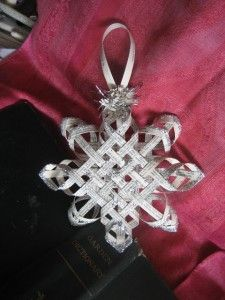 12 different 3D Paper Snowflake Patterns