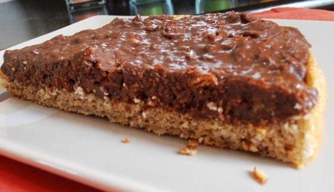 Gateau Chocolat - ( crepes dentelle, poudre de noisettes  pralinoise) recette du 14/11 2012