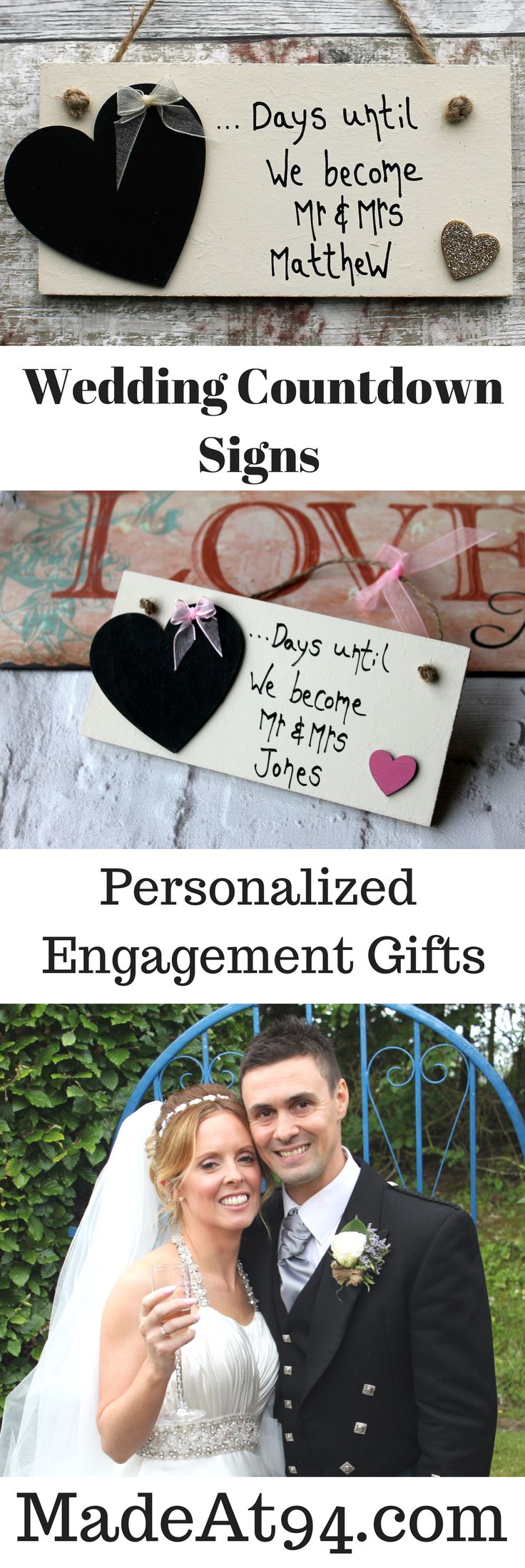Beautiful engagement gifts for couples, Anniversary Gifts and more, to countdown the days until the big day or to celebrate years together as a married couple.. When two becomes one! Unique Engagement gift ideas the Engaged couple can use as their Wedding Day comes near. Gifts for every stage of the wedding.