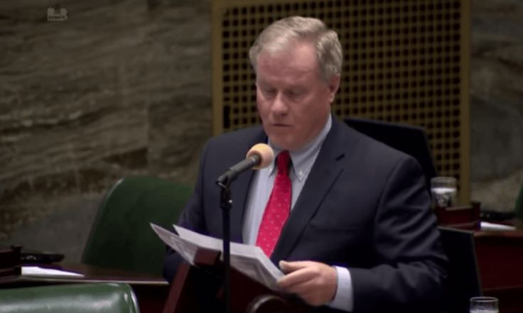Well, this is an example of the last of the litter  Pennsylvania Republican state Sen. Scott Wagner was out in Harrisburg, Pennsylvania, as the keynote speaker for a natural gas advocacy event. The gubernatorial hopeful wanted everyone to know that while he is no scientist, he was also a terrible...