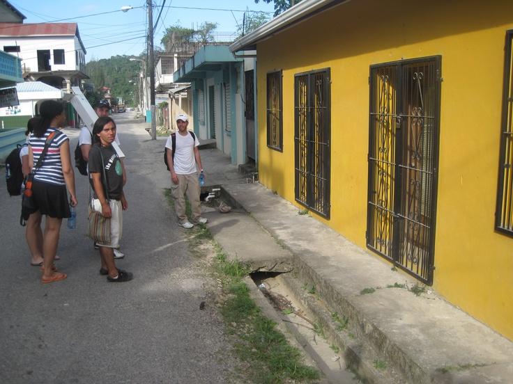 Downtown Benque Viejo del Carmen, Belize