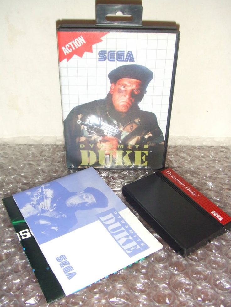 DYNAMITE DUKE - SEGA Master System - PAL - Come Nuovo
