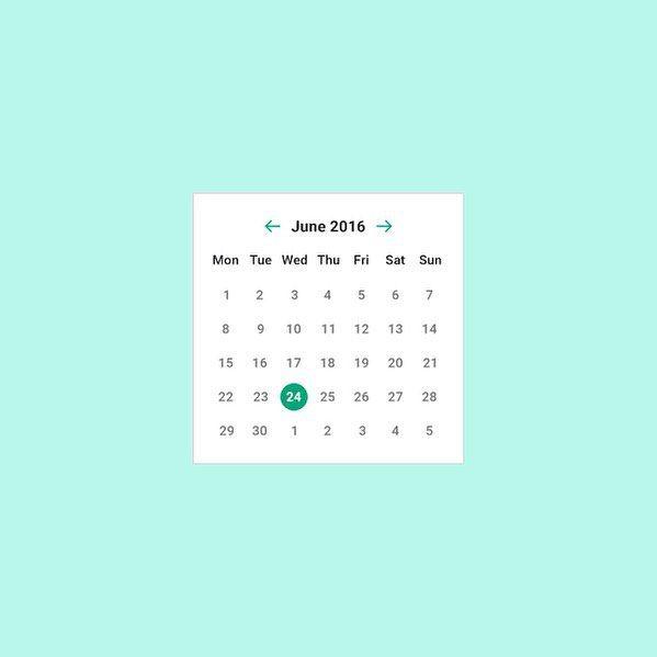 Day 3: Calendar input  #100DaysOfUI  #flatdesign #behance #dribbble #webdesign #userinterface #uxdesign #designinspiration #uxdesigner #uidesigner #appdesign #appui #graphicgang #uihunt by http://ift.tt/1NBC9jx