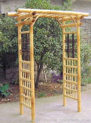 how to make a bamboo arbor - Google Search