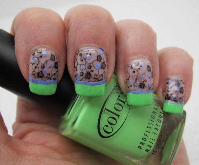 Mejores 203 imágenes de Nails! en Pinterest | Diseños de uñas ...