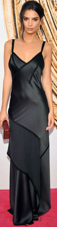 Emily Ratajkowski in Jason Wu at the CFDA Fashion Awards 2016 in New York.