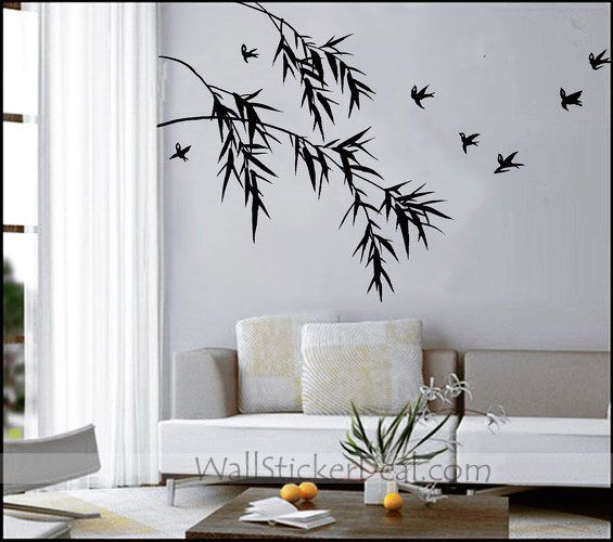 Best Bamboo Wall Stickers Images On Pinterest Bamboo Wall - Wall stickers decals