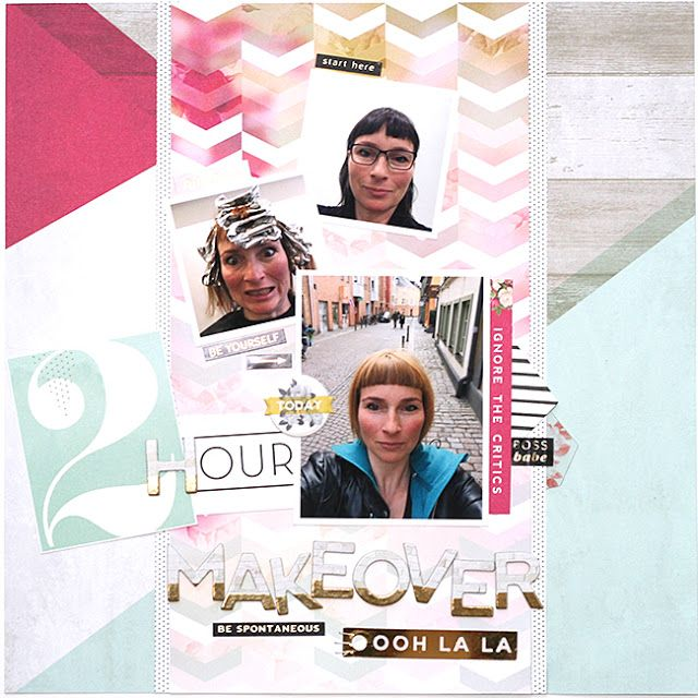 mitt kreativa kaos: 2 hour makeover .:. Pink Paislee C'est La Vie