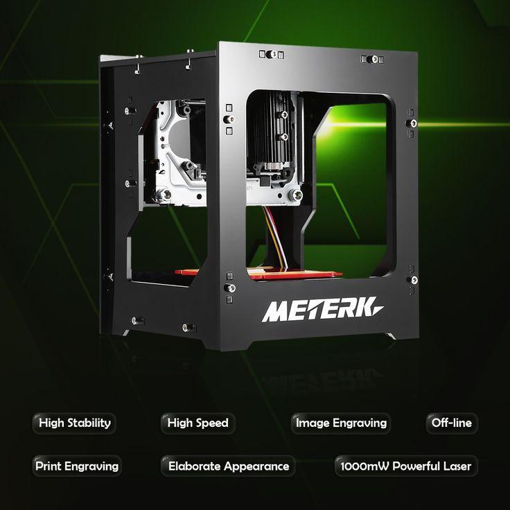 Only US$79.99, Meterk DK-8-KZ 1000mW High Speed Mini USB Laser Engraver Carver - Tomtop.com