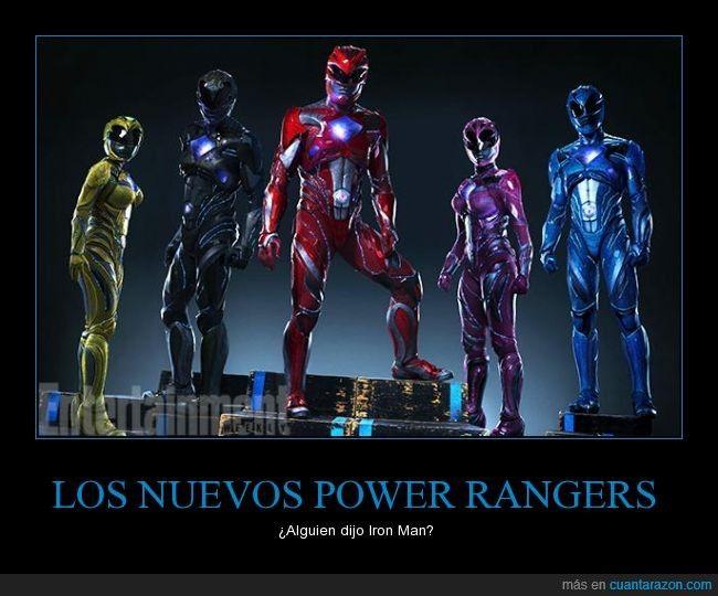 LOS NUEVOS POWER RANGERS - ¿Alguien dijo Iron Man?   Gracias a http://www.cuantarazon.com/   Si quieres leer la noticia completa visita: http://www.estoy-aburrido.com/los-nuevos-power-rangers-alguien-dijo-iron-man/