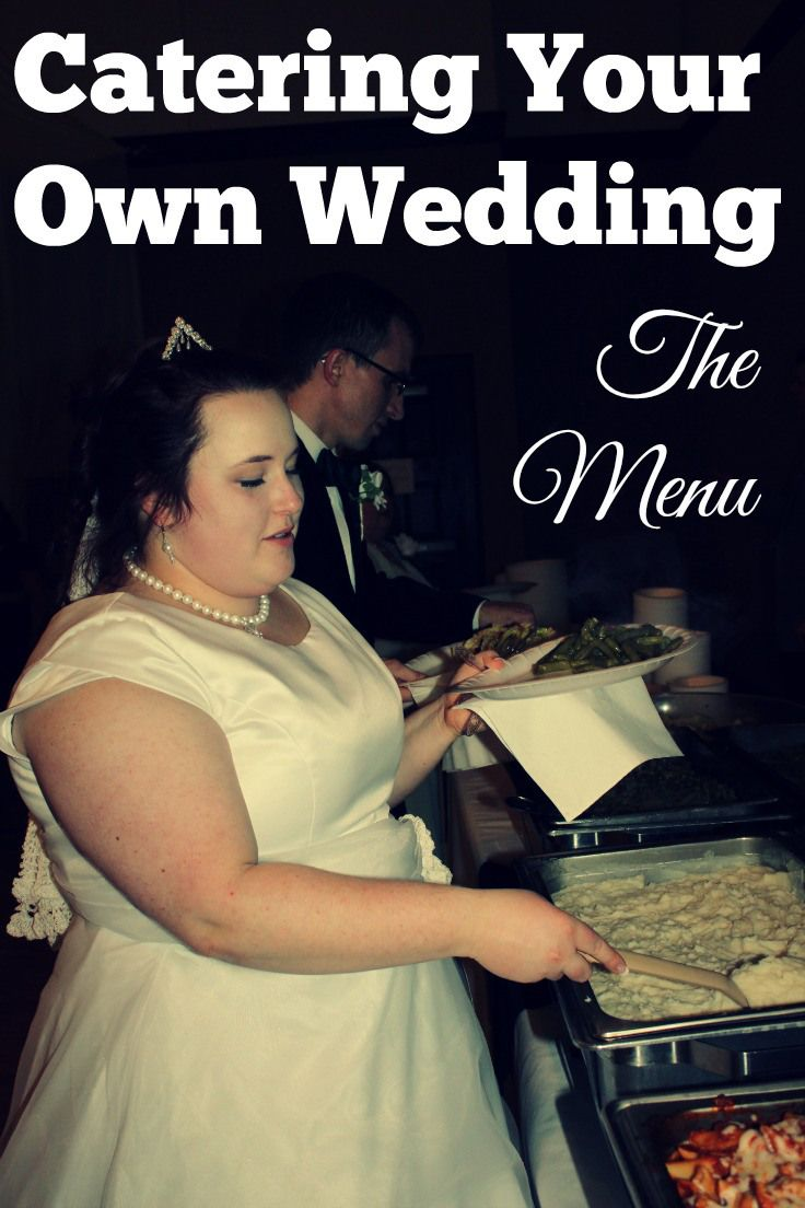 Catering for a wedding on a budget