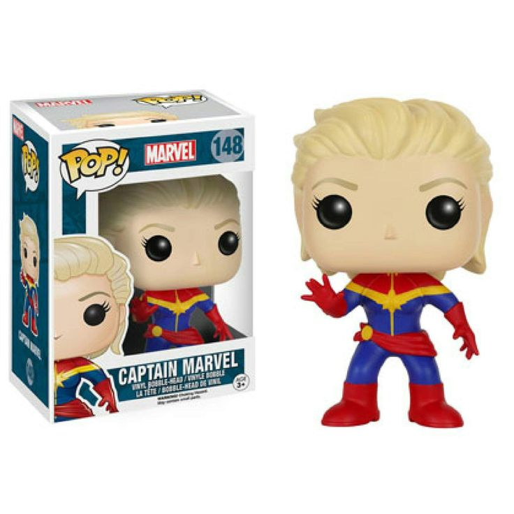 Carol Danvers, Captain Marvel Pop!