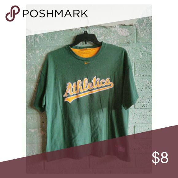 Men's MLB t-shirt Used in good condition. Oakland A's MLB T-shirt. Nike Shirts Tees - Short Sleeve
