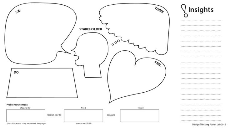 dtal-template-empathy-map-and-problem-statement by EpicenterUSA via Slideshare